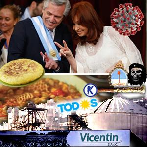 Vicentín, tortillas y mondongos